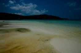 La plage de la full moon
