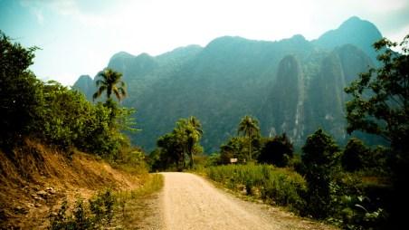 Road Trip near Vang Vieng