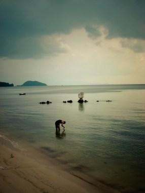 La pêche aux moules © Topich