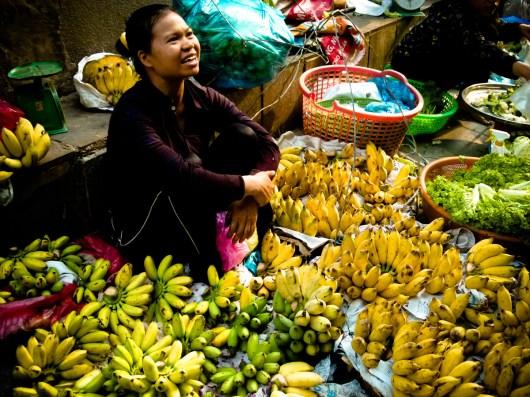 La femme à la banane