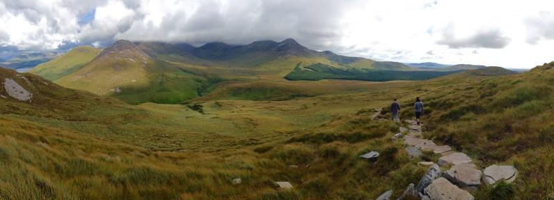Panorama du Connemara 2 © Yopich
