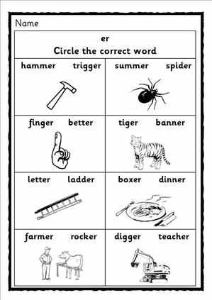 Ure Sound Worksheet Printable Worksheets And Activities For Teachers Parents Tutors And Homeschool Families