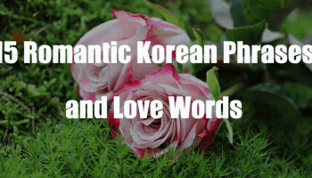 15 Romantic Korean Phrases and Love Words | TOPIK GUIDE