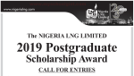 Nigeria Liquefied Natural Gas (NLNG) Postgraduate Scholarship 2019 is Out | Study Overseas