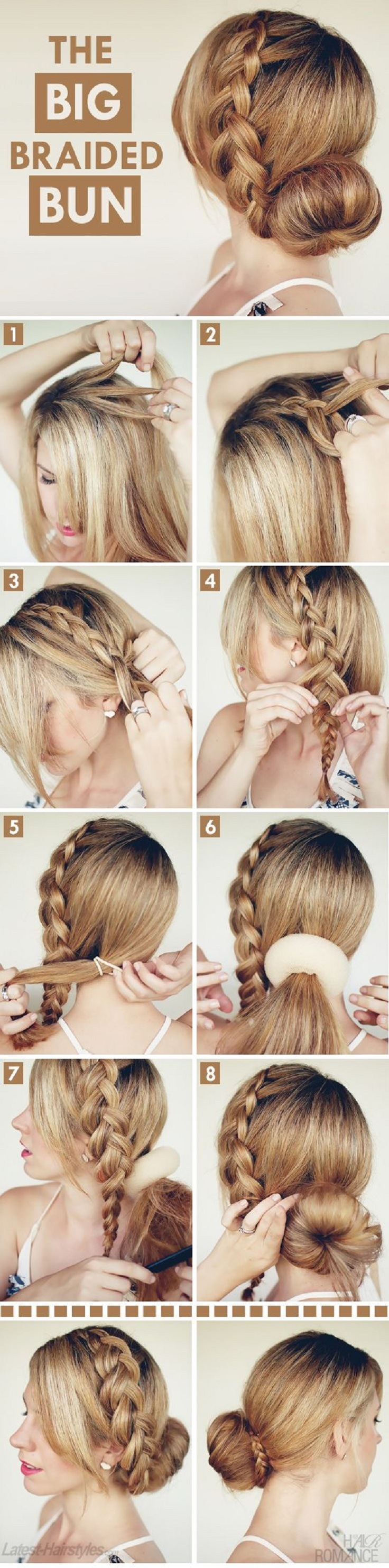Hair Braid Tutorials  Easy to be done Top 10  Top Inspired