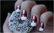 elegant diy christmas nail