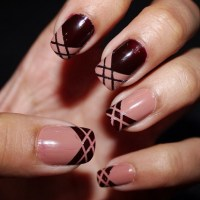 Top 10 Striped Nail Designs - Top Inspired