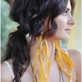 Displaying 17 gt images for boho chic hair updos