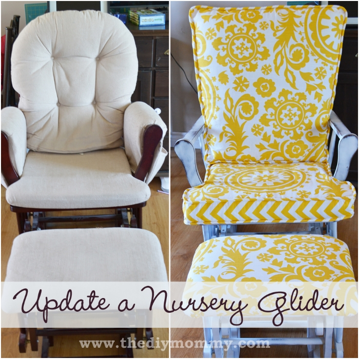 folding chair no arms saucer for kids top 10 refreshing diy re-upholstered furniture - inspired