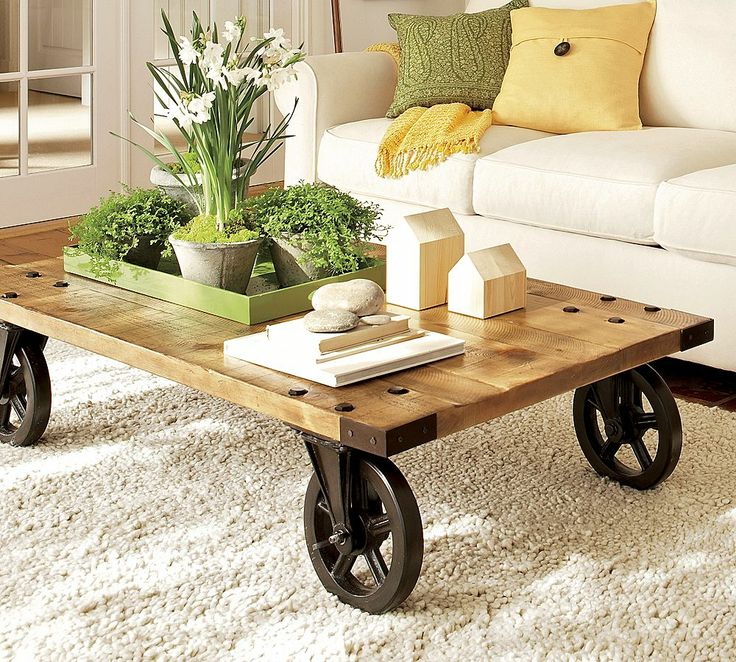 Spring-Inspired Coffee Table