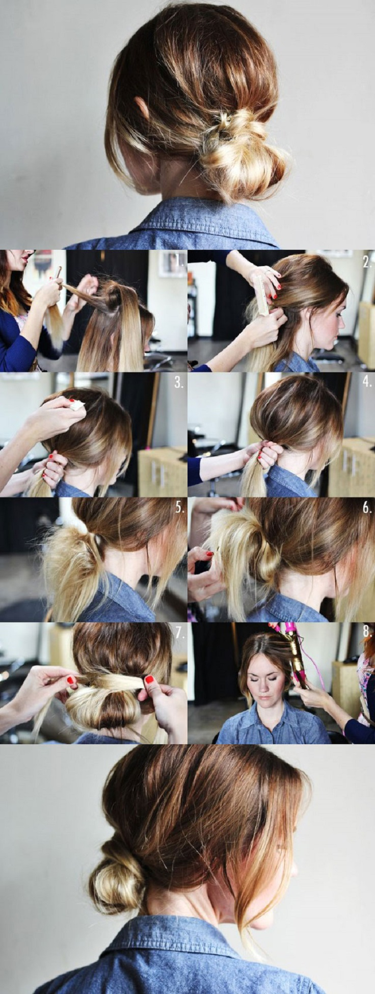 Top 10 Super Easy 5 Minute Hairstyles For Busy Ladies