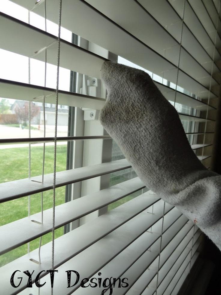 3-سرعة وطريقة-لتنظيف النافذة، والستائر