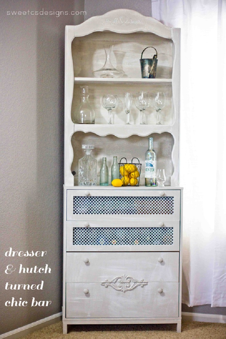 TOP 10 Clever Ways to Repurpose An Old Dresser