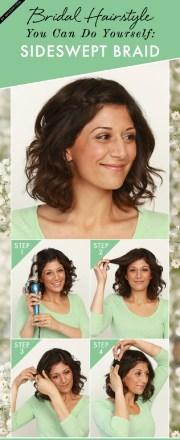 diy easy wedding hairstyles