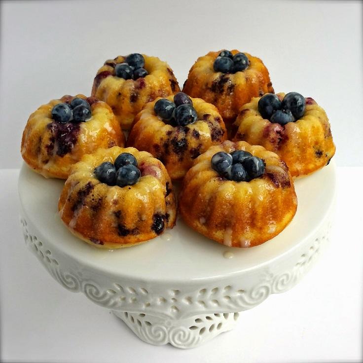 Lemon-Blueberry-Bundt-cakes