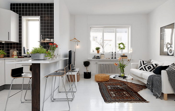 Best 10 Open Plan Kitchen Living Room Ideas For Small Spaces