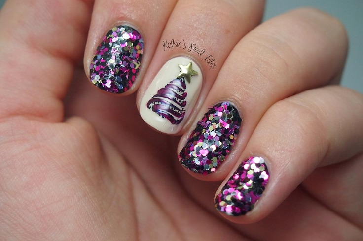 Christmas Tree Nail Art Top 10 Cutest Winter Inspired Ideas