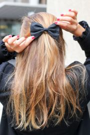 super easy ribbon hairstyles