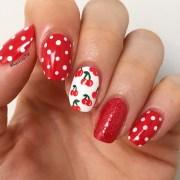 fruit inspired summer nail