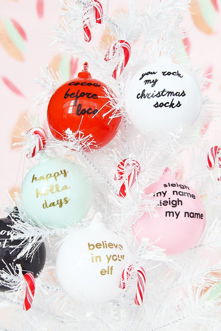 BEST 10+ DIY Ornaments for Your Christmas Tree