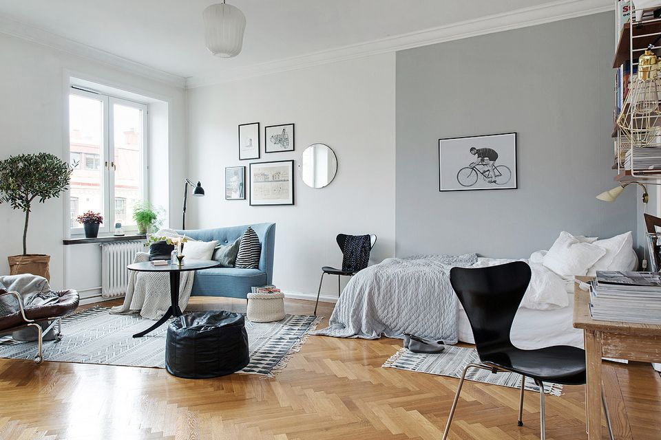 BEST 10+ Ways To Divide Space in Your Studio Apartment