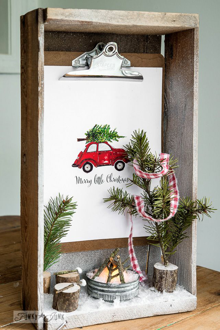 10 Creative Diy Shadow Box Ideas For Christmas Crazyforus