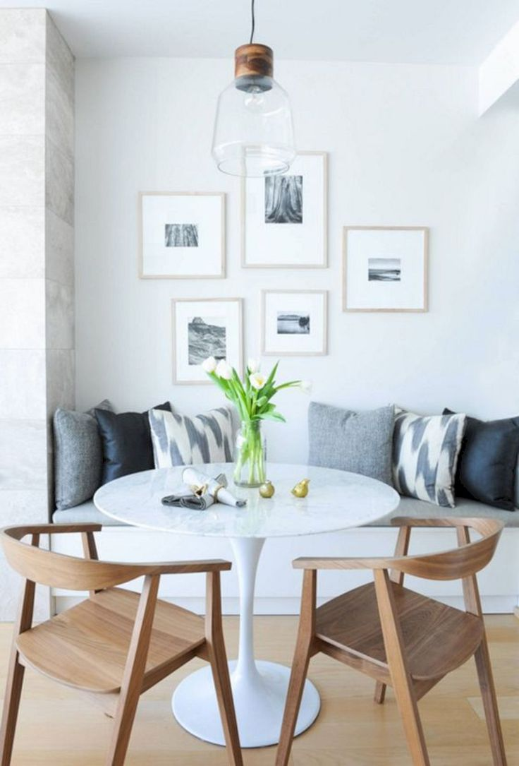 A small living room can feel even smaller when it shares space with a home's kitchen or dining area. 10 Gorgeous Small Dining Room Ideas - crazyforus
