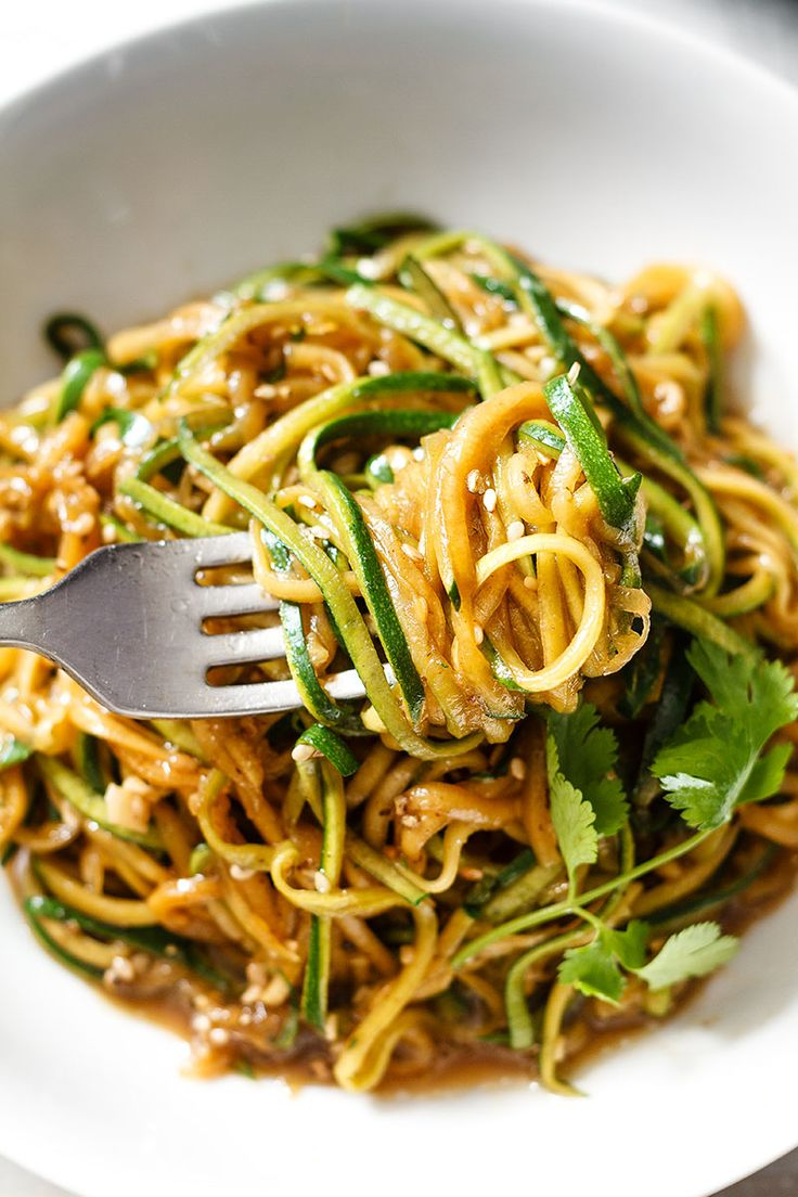 2. Teriyaki Zucchini Noodles | Top 10 Healthy and Delicious Zucchini Noodles Recipes