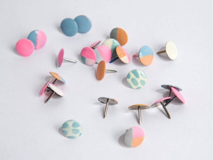 1. Colorful Thumbtacks