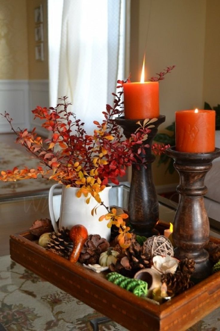 2. Fall Centerpiece