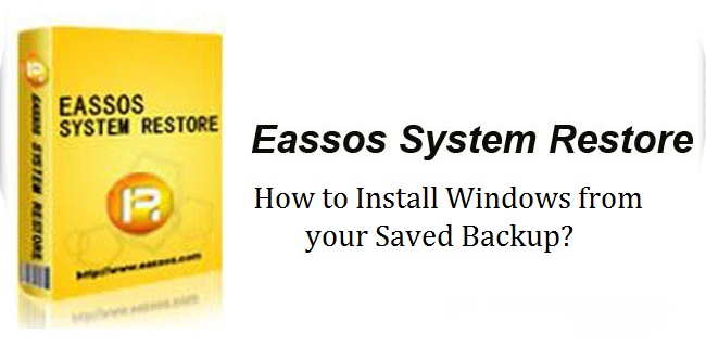 How to Install Windows from your Saved Backup?