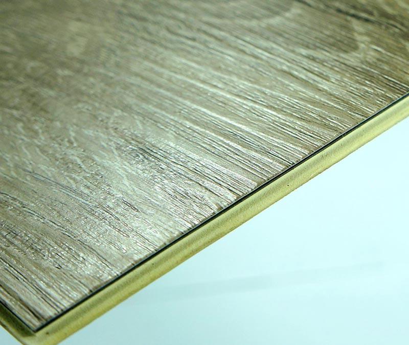 Wood Grain WPC Vinyl Click Waterproof Flooring Tiles