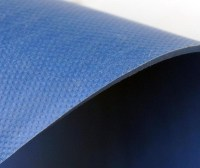 Dark Blue Luxury Commercial Office Homogeneous Sheet Vinyl