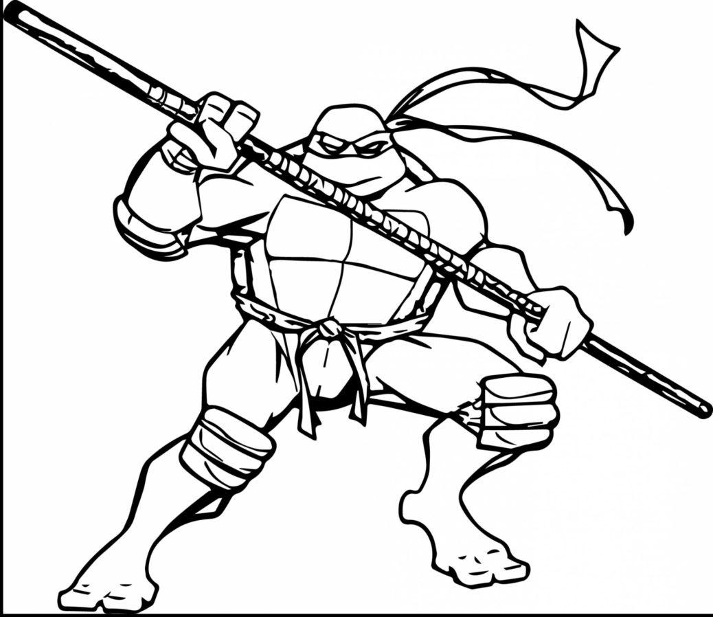 Ninja Turtles Kleurplaat • Kidkleurplaat.nl