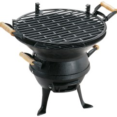 Outdoor Grill Kitchen Small Islands On Wheels Landmann Cast Iron Bbq | Charcoal Topline.ie