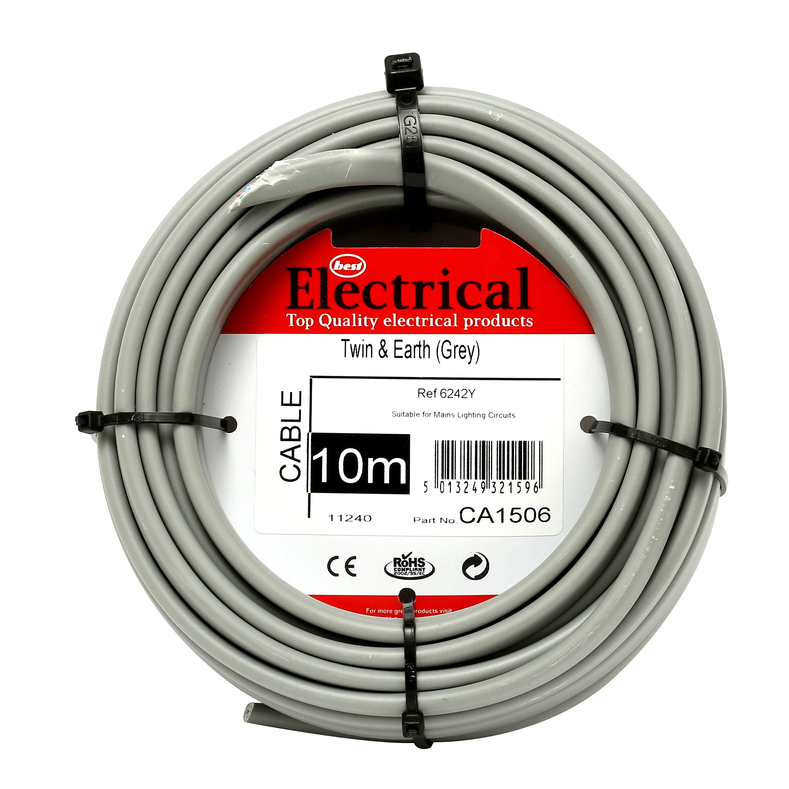 hight resolution of best electrical twin earth grey wiring cable 2 5mm