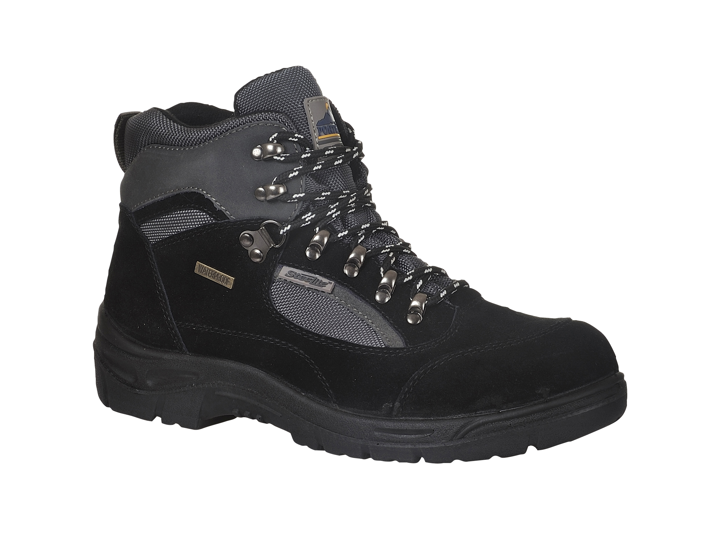 Portwest Steelite All Weather Hiker Boots S3  Black