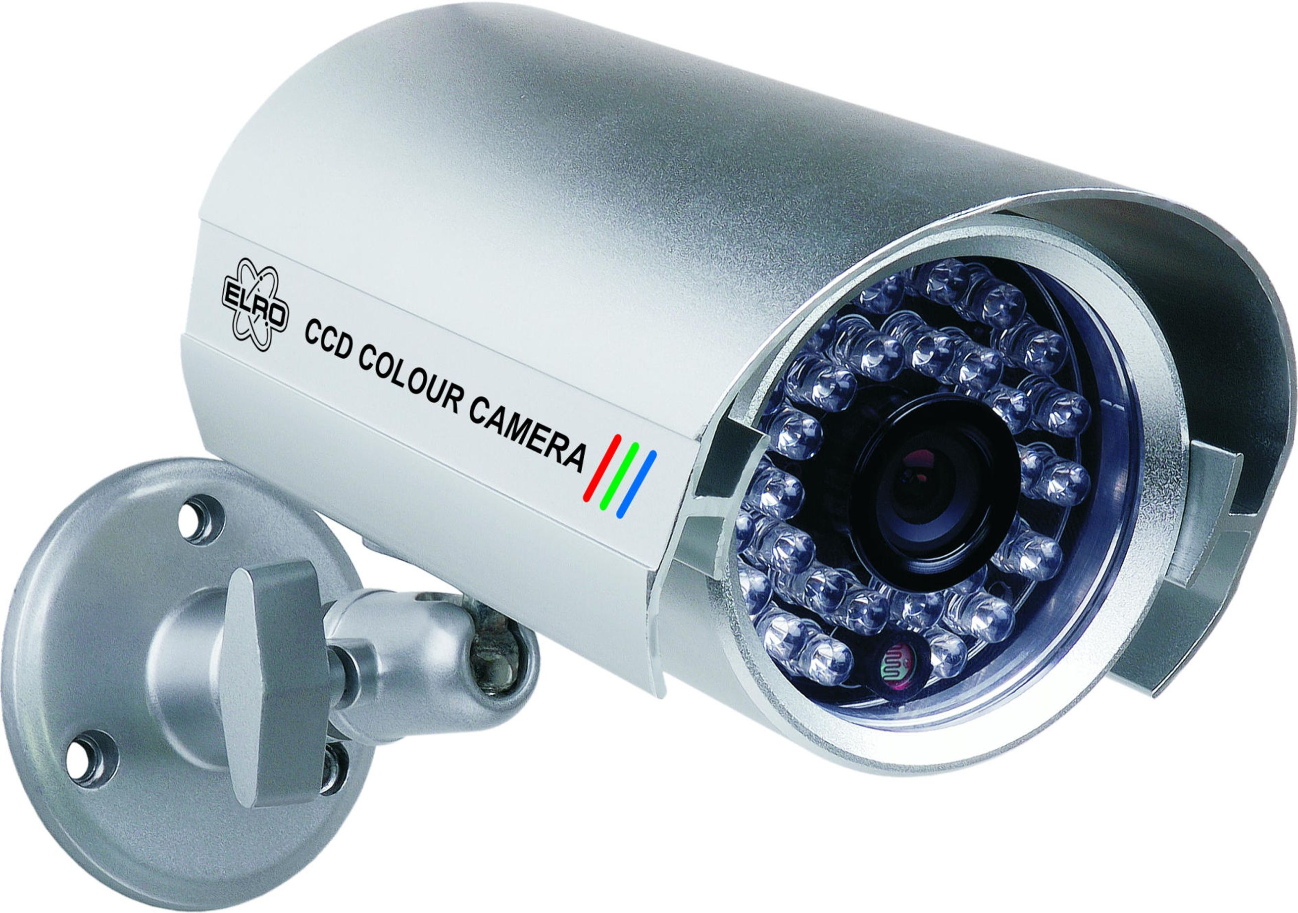 medium resolution of elro wired ccd colour security camera with 30 infrared leds