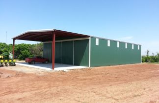 Topline Metal Farm Building 100% USA Made