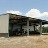 100% USA Made Topline Steel Building Metal Farm Building