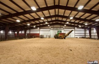 Topline Steel Buildings for Steel Riding Arena