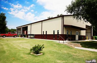 Automotive Steel Workshop Buildings from Topline Steel Buildings