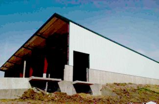 Steel Truck Garages by Topline Steel Buildings