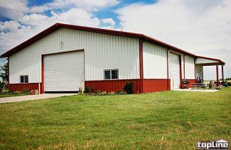 100% USA Made Recreational Metal Buildings by Topline Steel Buildings