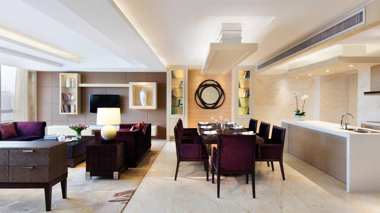 Presidential Suite - Guangzhou Marriott Hotel Tianhe - Top Luxury Asia