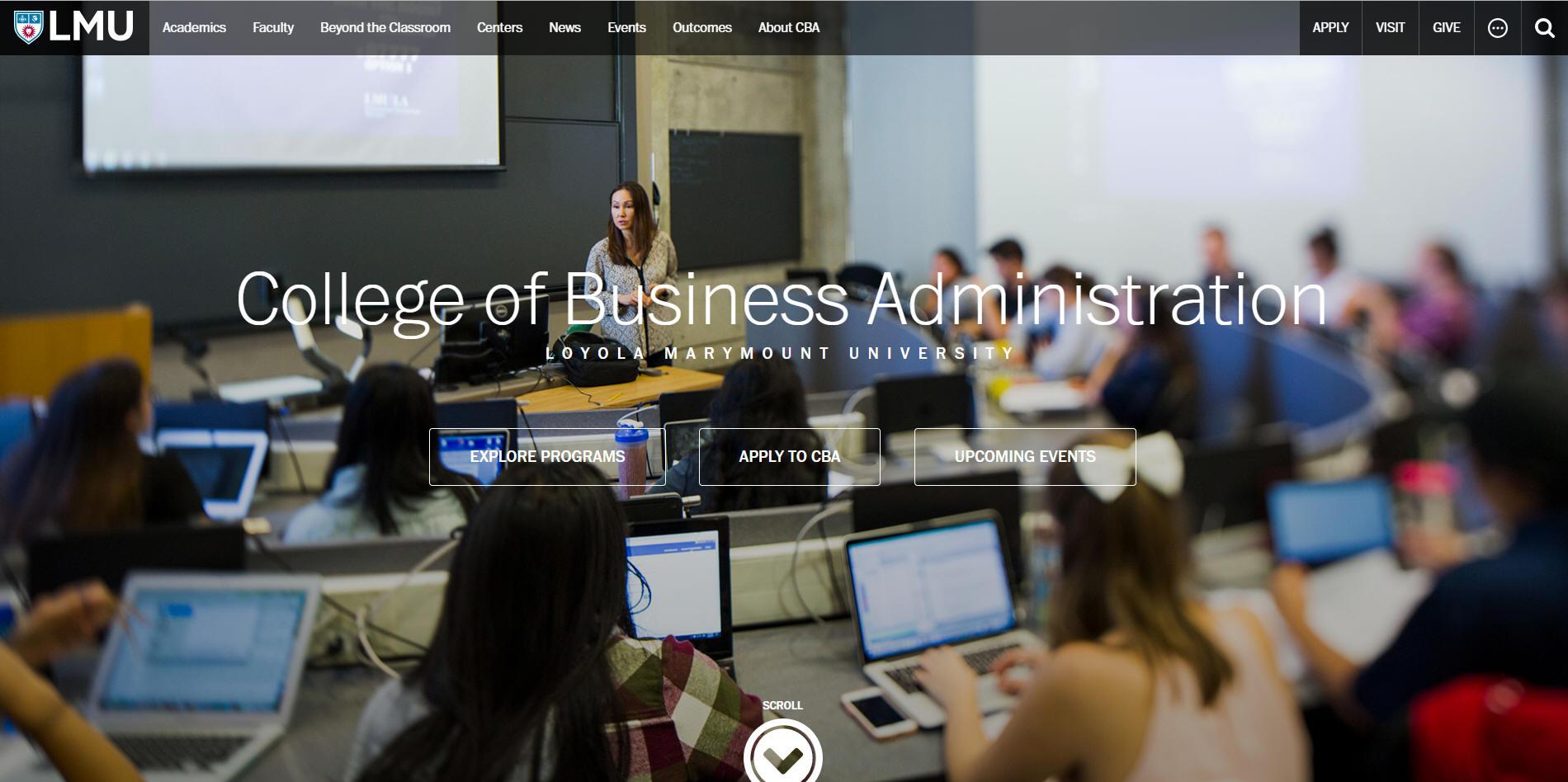 Loyola Marymount University College of Business Administration: Average GMAT Scores. Rankings. and MBA Starting Salary