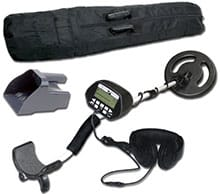Treasure Cove TC-3020 Fortune Finder Platinum Digital Metal Detector Set