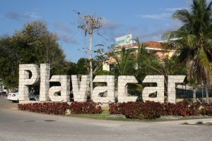 Playacar Entrance