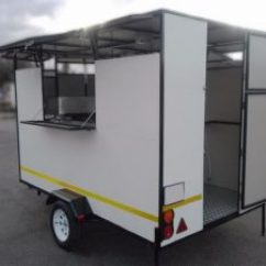 Kitchen Trailer Painted Cabinets Mobile Trailers Gauteng 0813270033 Food Standard Specifications