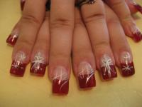 Christmas Wrapping, nail art designs by Top Nails